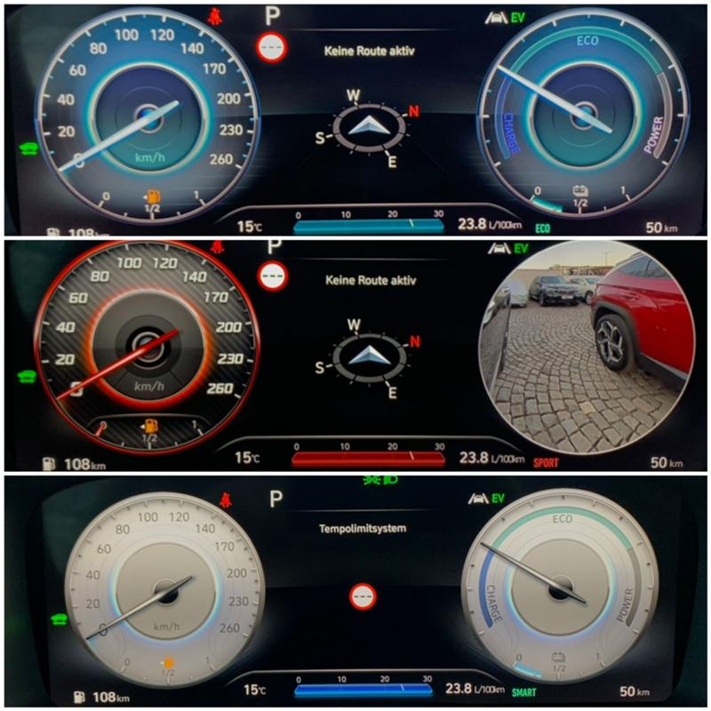 Hyundai Santa fe 1.6T-GDI/HYBRID Prime Seve / Model 2021/6+1, снимка 16