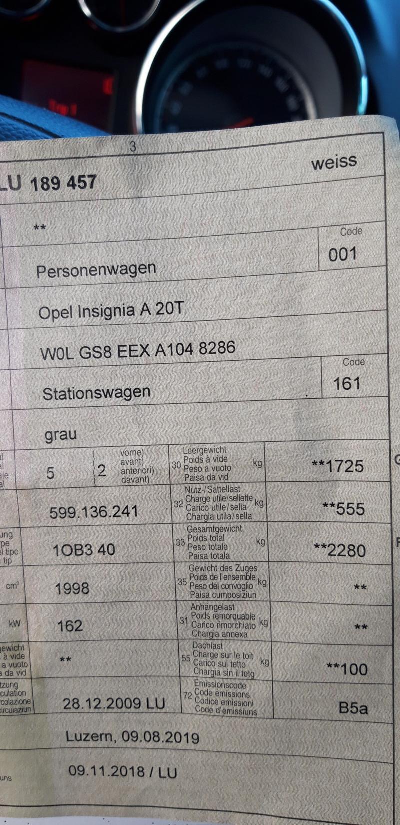 Opel Insignia 2.0I turbo, снимка 13