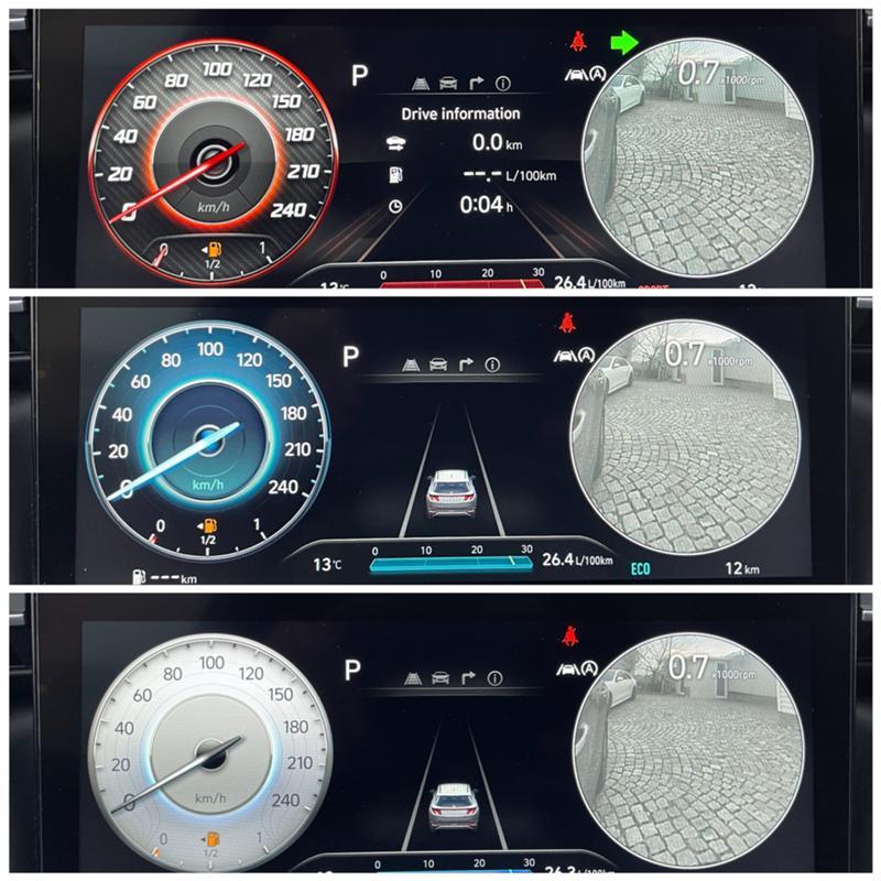 Hyundai Tucson N-line/1.6-CRDI(дизел),7-DCT ,4X4, снимка 16