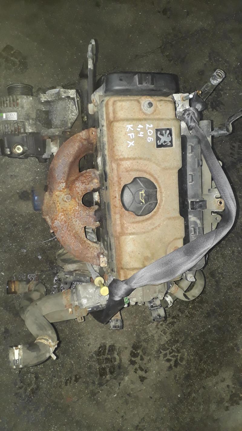 Двигател за Пежо 206 1,4 тип на мотора KFX