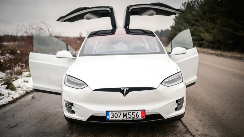 Tesla Model X X100D,4x4, New!!, снимка 2