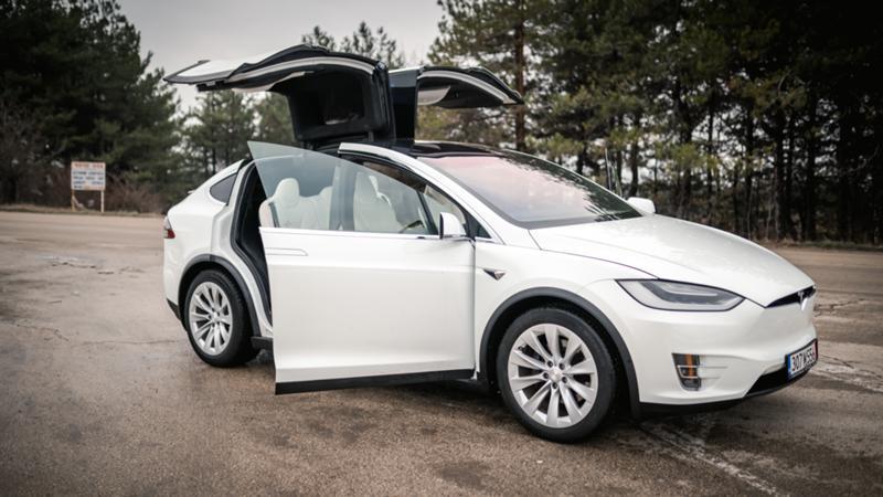 Tesla Model X X100D,4x4, New!!, снимка 11