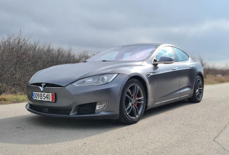 Tesla Model S P90D 772 к.с. Ludicrous